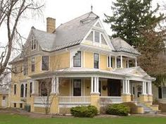 Victorian house in Connecticut