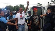 Continúan las protestas contra depósito de cenizas en Peñuelas
