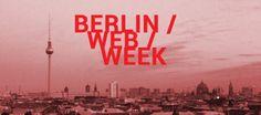 Die Berlin Web Week mit vielen tollen Events! Hier meine Übersicht.: http://stefaniebley.com/2014/die-berlin-web-week/