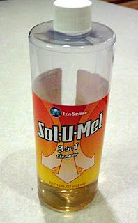 Sol-U-Mel is just a light soap solution with Tea Tree Oil added. Seriously, that's all it is. You can replace it by taking a couple drops of Dr Bronners liquid soap or similar and adding a couple drops of tea tree oil