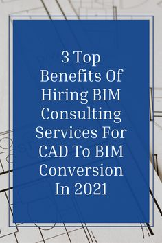 The advent of CAD software revolutionized the working of the #buildingindustry, but #BIM has now taken it to another level. BIM users adopt a new-age system that provides a more comprehensive and holistic overview of a building project. Let's take a look at these top 3 benefits of hiring #bimconsultingservices for #CADtoBIM Conversion in 2021. #theaecassociates #bimservices #bimoutsourcingservices #bimmodeling #bimoutsource #architecture #architecturedesign #architecturalbim #outsourcingservices