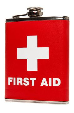 hahaha | The First Aid Drinking Flask | LFF Designs | www.facebook.com/LFFdesigns