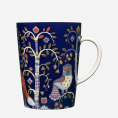 Iittala - Products - Drinking - Hot drinks - Mug 0.4 L, blue