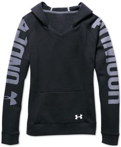 Under Armour Girls' Favorite Graphic-Print Hoodie