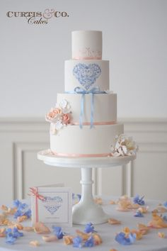 Wedding cake by Curtis & Co Cakes