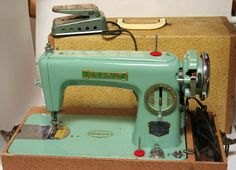 Vintage Koyo Sewing Machine Regent with Case and Pedal | eBay