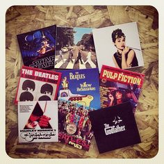 Porta-copos + Coasters + Filmes + Cinema + Músicas + Capas de Discos + Loja Mosaico de Ideias - Instagram photo by @mosaicodeideias
