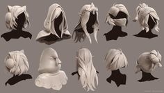 Drawing Hairstyles For Your Characters 830351250031815401 - ArtStation – Dota 2 Workshop – Various Girl Hairs, Hunter Mortenson Source by bernhardhalle 3d Model Character, Character Design Cartoon, Character Design References, Character Drawing, Fantasy Girl, Fantasy Anime, High Fantasy, Dota 2, Blender 3d