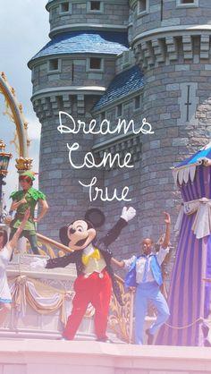 Walt Disney World....Where your dreams come true. :)