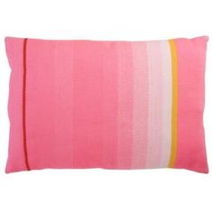 Biscuit Home Multi Pink Stripe Pillow
