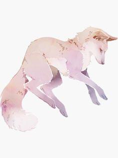 Animal Sketches, Art Sketches, Pretty Art, Cute Art, Cute Wolf Drawings, Anime Wolf Drawing, Fox Stuffed Animal, Mythical Creatures Art, Fox Art