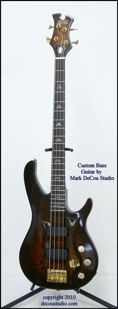 Ultra Custom Electric Bass Guitar