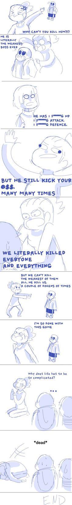 Undertale random comic