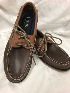 b7b78ef5c13f1b Extra Off Coupon So Cheap Sperry Men Leather Shoe - Size 8