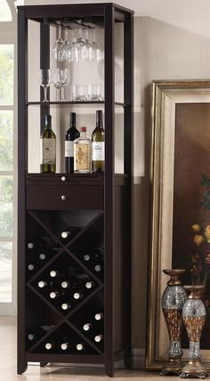 Modern Wine Storage Tower ♥