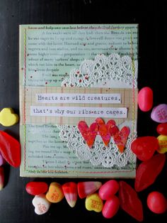 Made by Nicole: Valentine's Cards: Love Notes