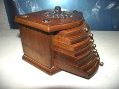 8 x 70er Jahre Untersetzer Glasuntersetzer im Holzschuber 9 tlg. Holz Kork   eBay