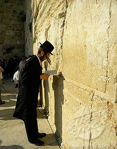 The Western Wall, Jerusalem, is a very powerful place...I had the privilege of standing and praying before it....
