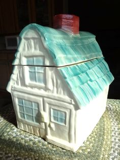 Brush McCoy Vintage 1962 House Cookie Jar by MarilynsRetroMarket, $85.00