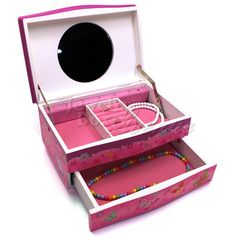 Prancing Pony PinkBlue Musical Jewelry Box only 3499 plus free