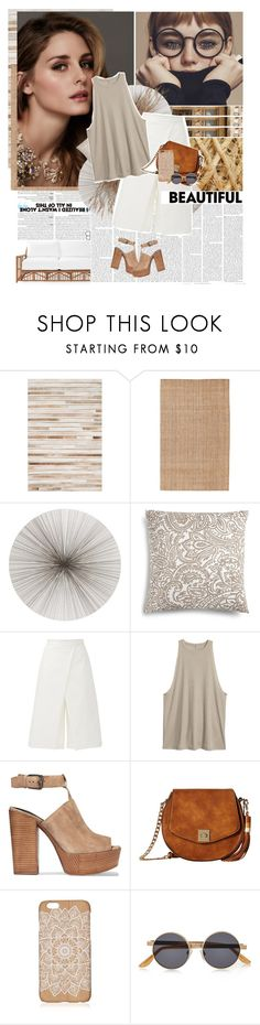 """""""#2"""" by stalya ❤ liked on Polyvore featuring Loloi Rugs, Surya, Beauty Secrets, Tisch New York, Charter Club, TIBI, Rebecca Minkoff, Gabriella Rocha, River Island and Serena & Lily"""