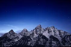 Tetons by Moonlight | Jack Brauer
