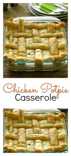 This easy to follow Chicken Potpie Casserole is rich and delicious. Turn your ordinary pot pie into and extraordinary potpie with this simple recipe.