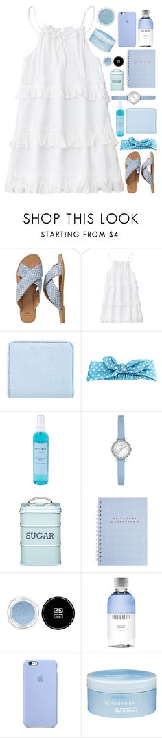 """""""You made me a, you made me a believer, believer."""" by annaclaraalvez ❤ liked on Polyvore featuring Gap, Marc Jacobs, Arizona, NuFace, GUESS, Kitchen Craft, Givenchy, Lord & Berry, Aveda and Bare Escentuals"""