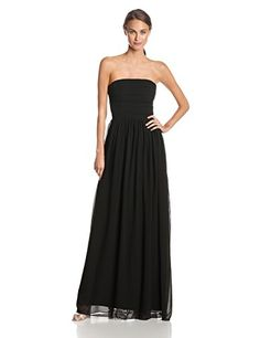 48917057a7aa5 ERIN erin fetherston Womens Isabelle Strapless Evening Gown Black 6 * Click  image to review more