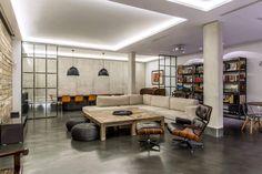 Residencial III 02 850x567 Marisa Gonzalez LLanos Designs a Stylish Industrial Home in Madrid, Spain