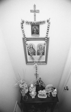 simple home altar