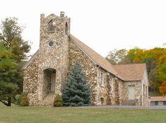 Slate Mountain Presbyterian Church, Founded 1932, Meadows of Dan, VA