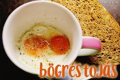 Bögrés-mikrós (lágy)tojás Okra, Breakfast Ideas, Keto, Tableware, Dinnerware, Gumbo, Morning Tea Ideas, Tablewares, Dishes