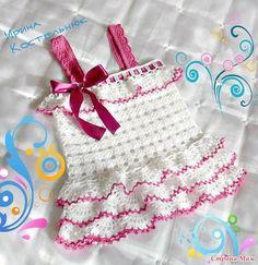 moldes de Lindos Vestiditos a Crochet con Esquemas gratis02