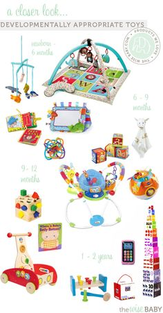A Closer Look at Developmentally Appropriate Toys