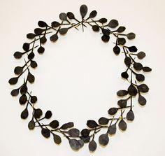 Ann Catrin Evans wreath