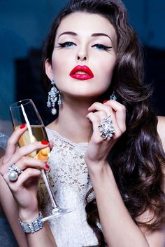 Rich Girl-  Cheers! LadyLuxuryDesigns