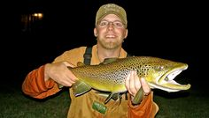Trout fishing and the full moon.