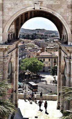 Cagliari vista dal Bastione, Sardegna