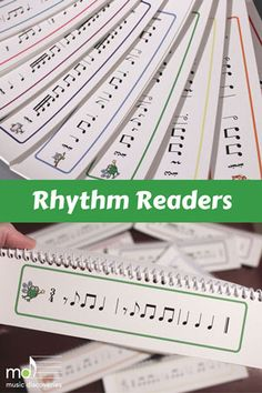 Rhythm Readers - nine levels in one easy download!