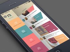 GIF Blog App by Sergey Valiukh for Tubik Manufactory