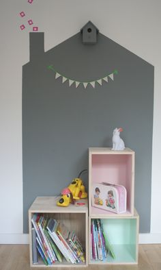 wall paint-cabin-cube-pastel-xenos-blog villa_meliefste