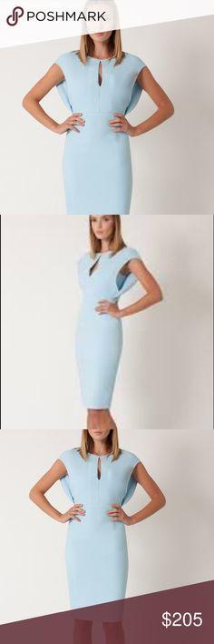 "Selling this Black Halo ""Yoomi"" sheath cocktail Blue Size 8 on Poshmark! My username is: allinmycloset. #shopmycloset #poshmark #fashion #shopping #style #forsale #Black Halo #Dresses & Skirts"