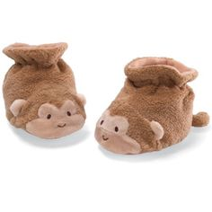 "Gund Monkey Booties 3"" Infant Accessory by Gund, http://www.amazon.com/dp/B008DZYK3C/ref=cm_sw_r_pi_dp_R71drb16DG8A4"