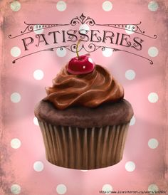 Vintage Pâtisseries - printable