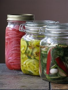 Pickle recipes