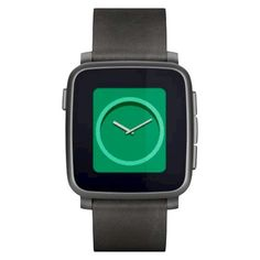 Smartwatch Pebble Time Steel negro #fitness #health #sports