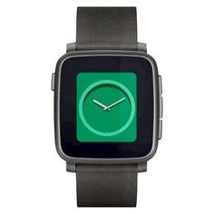 Smartwatch Pebble Time Steel negro #fitness #health #sports