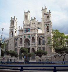 Hospital de Jornaleros, Madrid (1909), del arquitecto  Antonio Palacios Ramilo