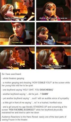 Some of the best reactions to Frozen
